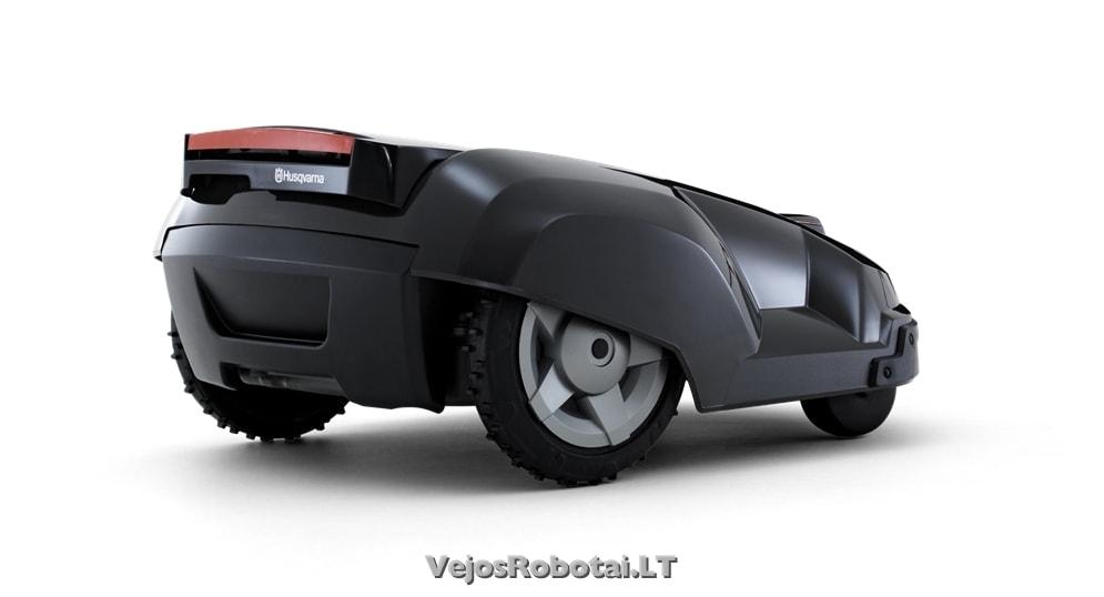 robotas vejapjov automower solar hybrid negaminamas. Black Bedroom Furniture Sets. Home Design Ideas